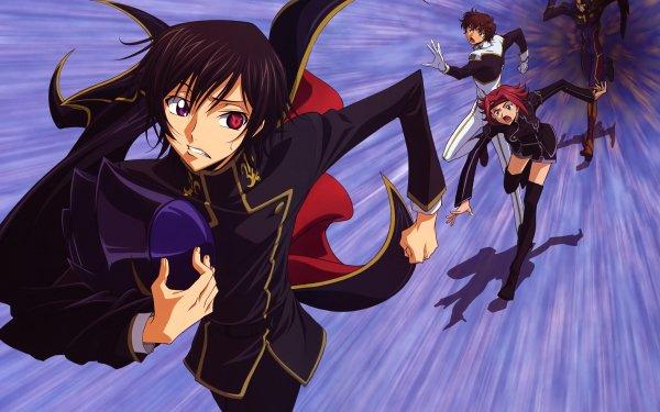 Anime Code Geass Kallen Kōzuki Suzaku Kururugi Lelouch Lamperouge Jeremiah Gottwald HD Wallpaper   Background Image
