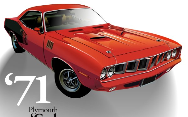 Vehicles Classic Plymouth Barracuda HD Wallpaper | Background Image