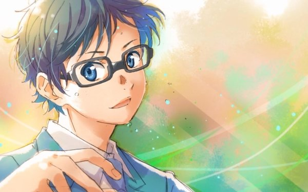 Anime Your Lie in April Kousei Arima HD Wallpaper | Background Image