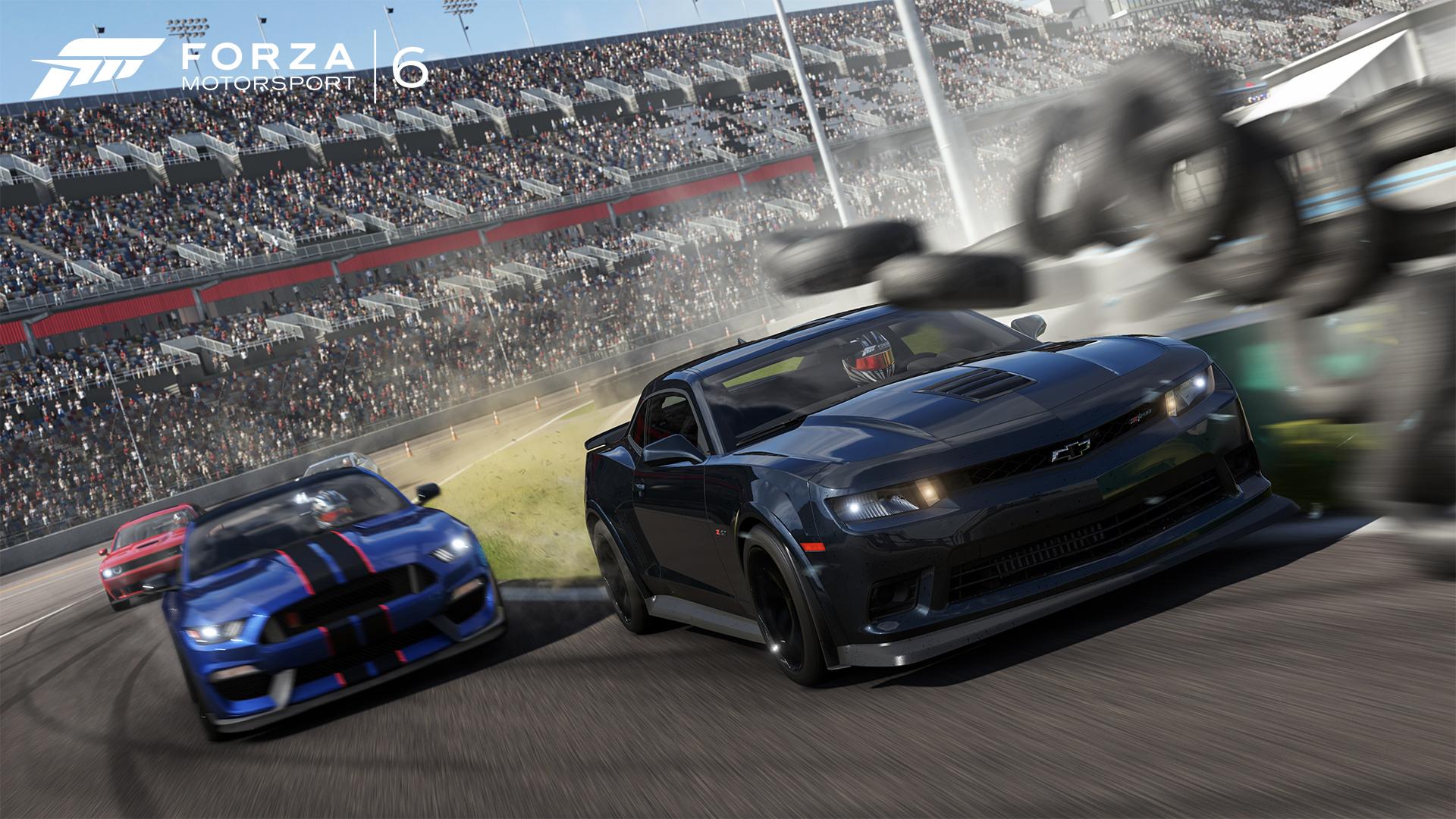 Xbox One Forza  Cars Corvette Crash