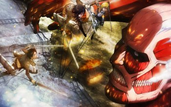 45 Colossal Titan Hd Wallpapers Background Images Wallpaper Abyss
