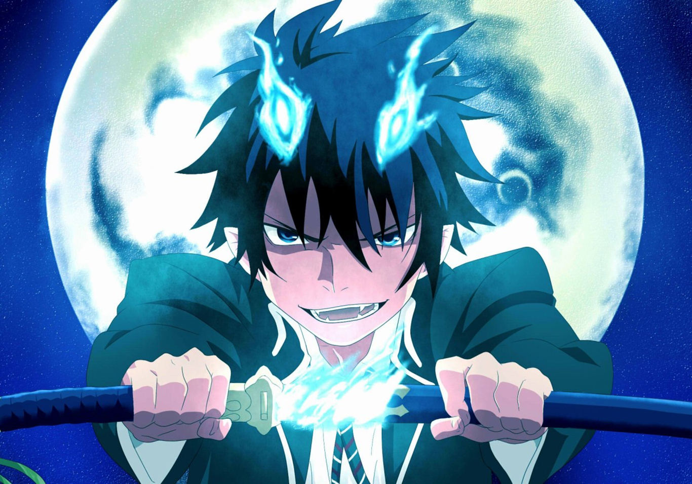 blue exorcist rin okumura - photo #9