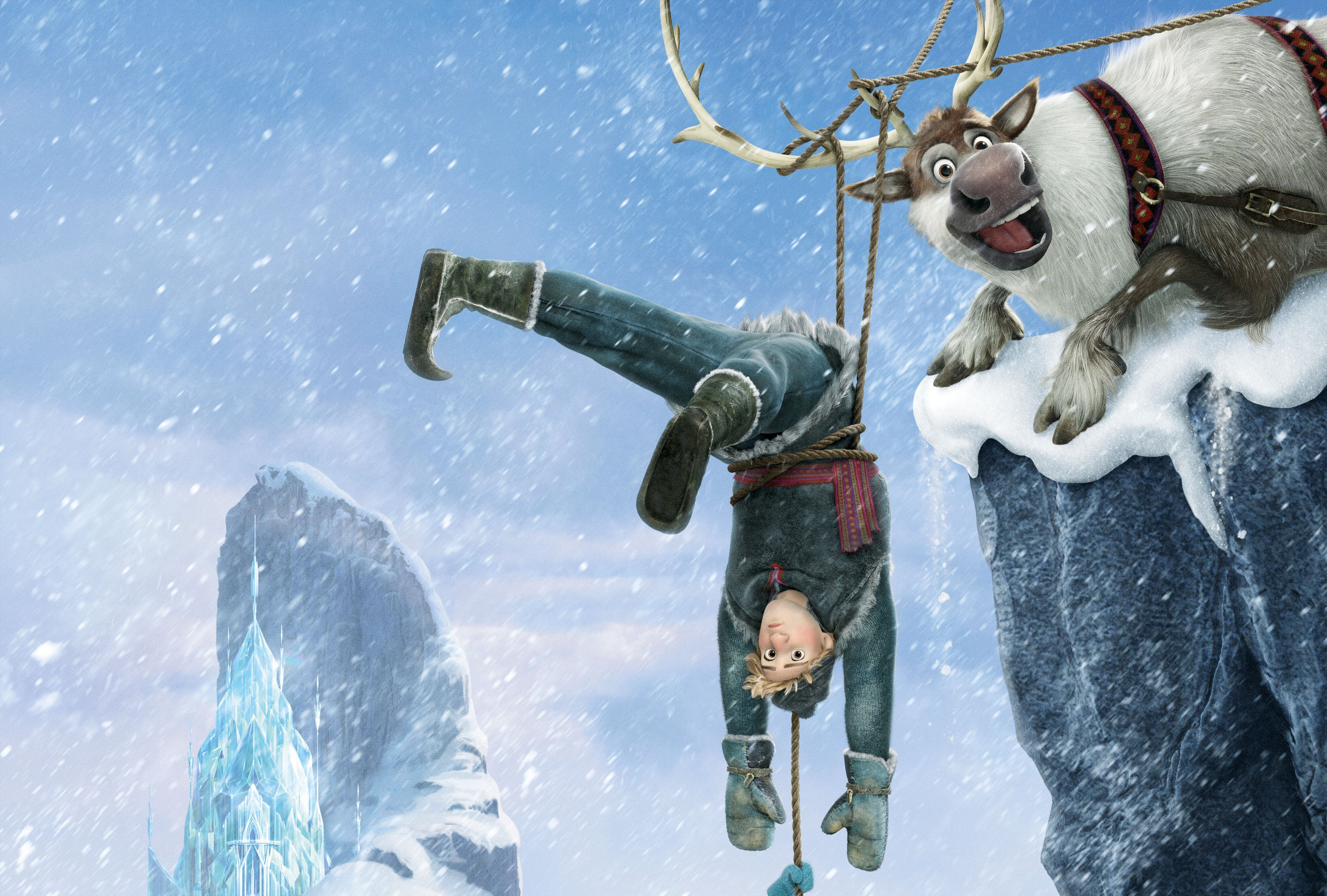 Kristoff Frozen 4k Ultra HD Wallpaper and Background ...