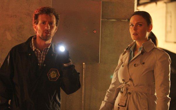 TV Show Bones Temperance Brennan Emily Deschanel T.J. Thyne Jack Hodgins HD Wallpaper | Background Image
