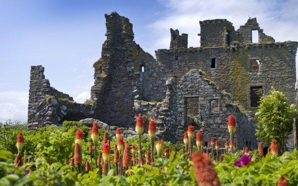 Man Made Dunnottar Castle Castles United Kingdom HD Wallpaper | Background Image