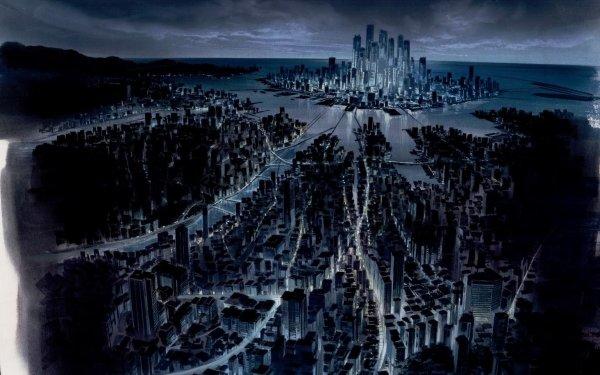Sci Fi City Cyborg HD Wallpaper | Background Image