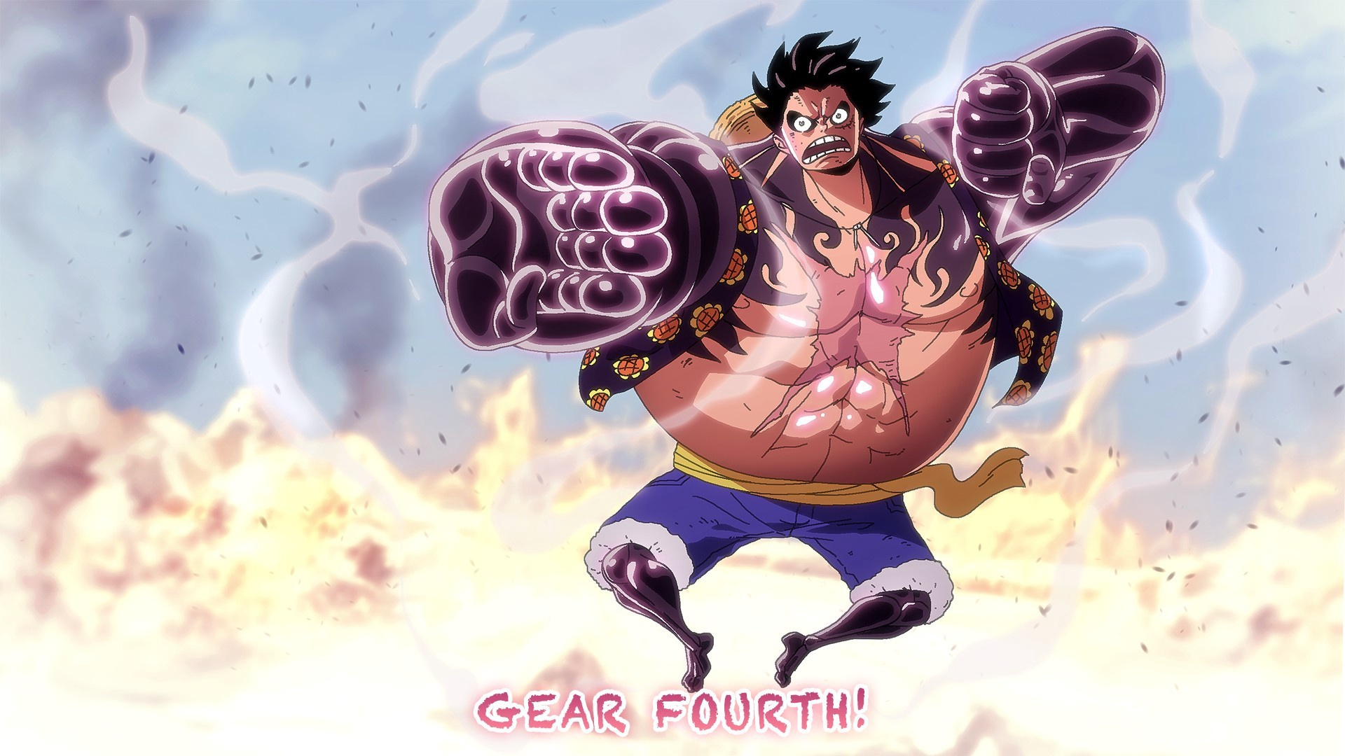 One Piece Wallpaper Luffy Gear Third Monkey D. Luffy (Gear ...