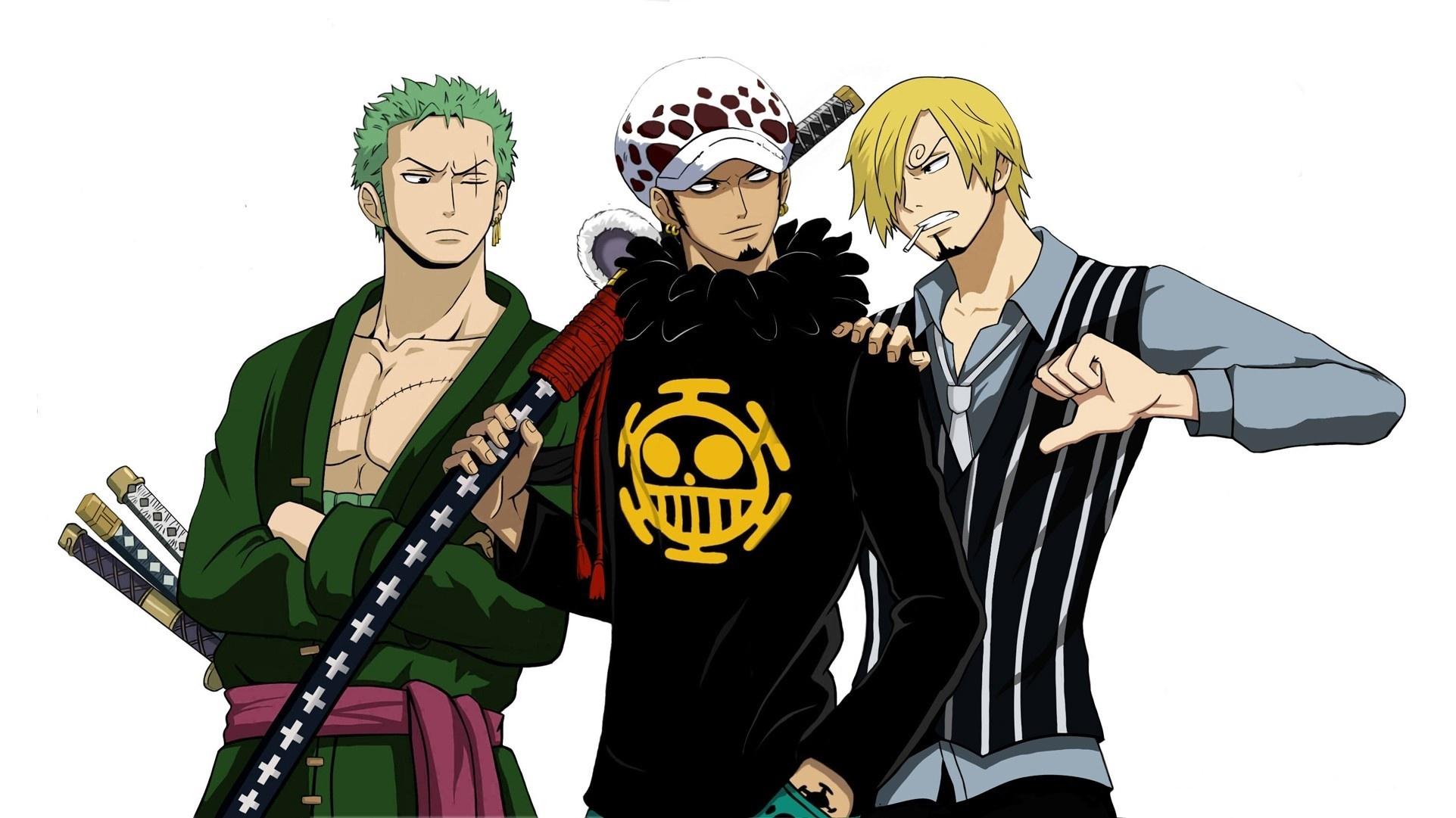 Hd wallpaper one piece zoro - Anime One Piece Zoro Roronoa Trafalgar Law Sanji One Piece Wallpaper
