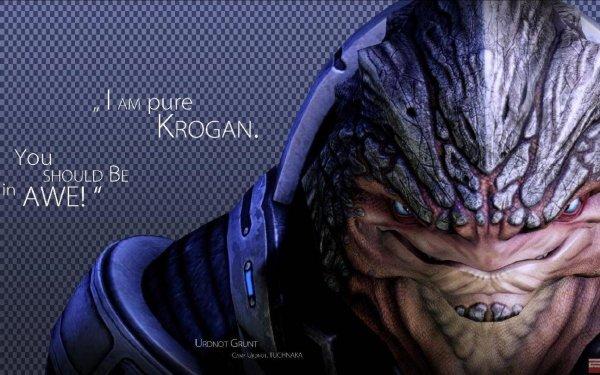 Video Game Mass Effect Grunt HD Wallpaper | Background Image