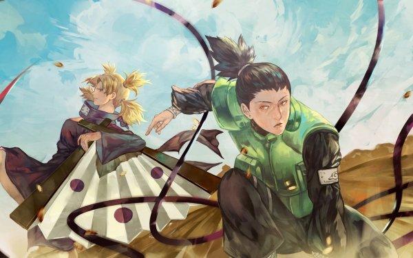 Anime Naruto Shikamaru Nara Temari HD Wallpaper | Background Image