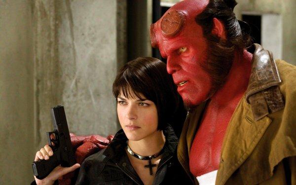 Movie Hellboy II: The Golden Army Hellboy Ron Perlman Selma Blair HD Wallpaper | Background Image