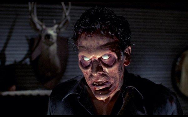 Movie Evil Dead II Evil Dead Horror Creepy Scary Zombie Dark HD Wallpaper | Background Image