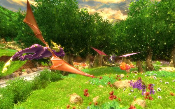 Video Game The Legend of Spyro: Dawn of the Dragon Spyro Cynder HD Wallpaper | Background Image