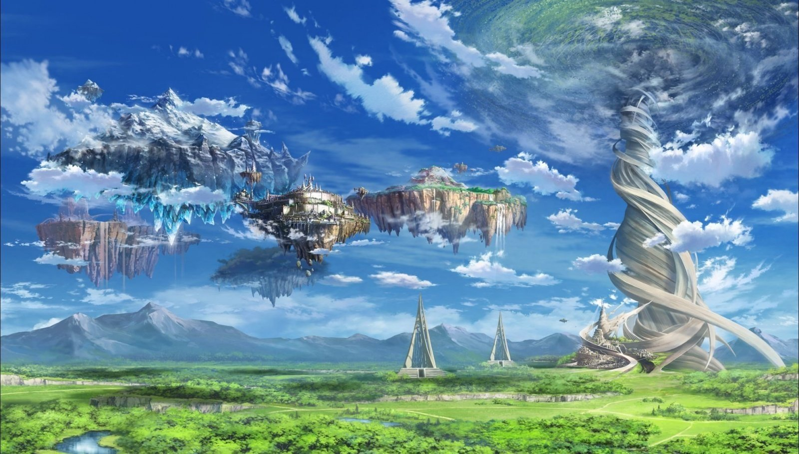 Sword Art Online Landscape 壁纸and 背景 1600x909 Id 647749