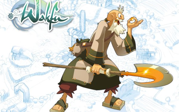 Anime Wakfu The World of Twelve Ruel Stroud HD Wallpaper | Background Image