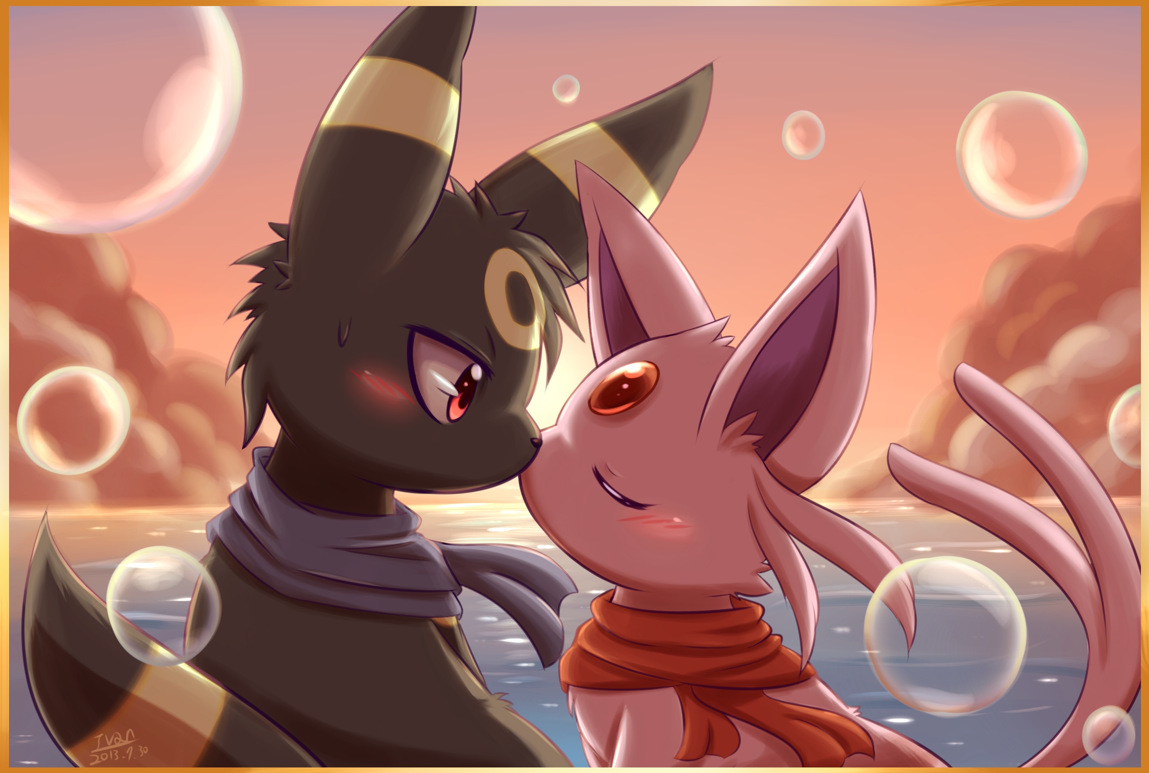 umbreon and espeon hd - photo #21