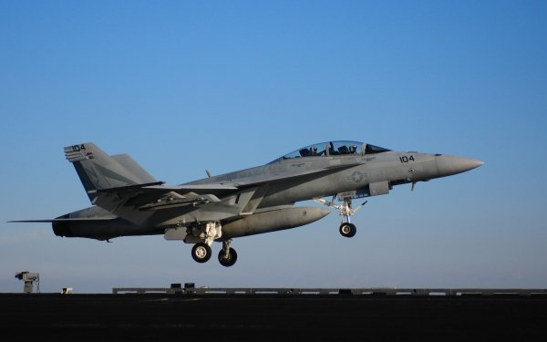 Military Boeing F/A-18E/F Super Hornet Jet Fighters Aircraft Navy HD Wallpaper   Background Image