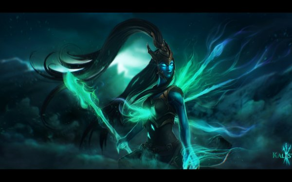 Video Game League Of Legends Kalista HD Wallpaper   Background Image