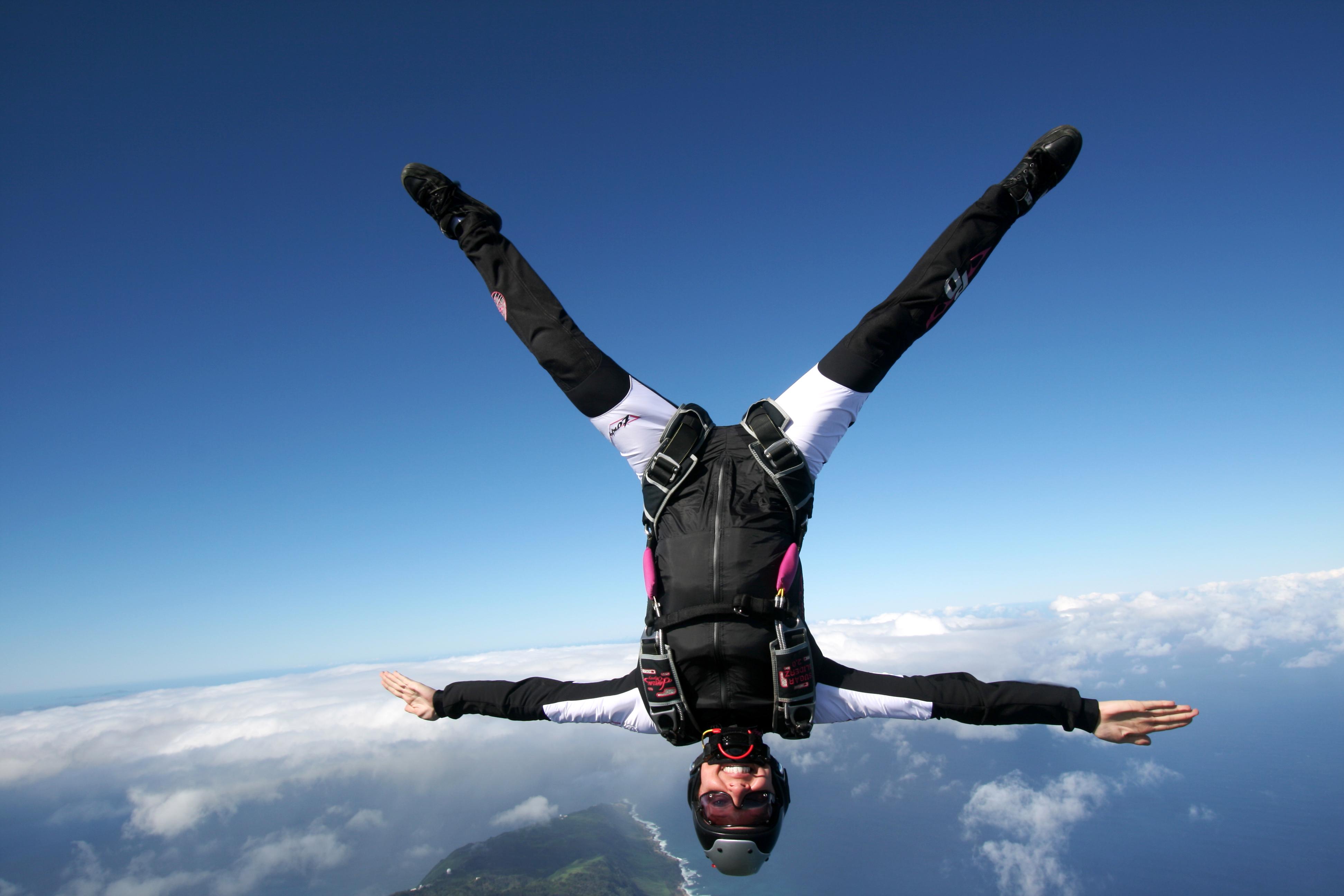 Skydive Free Fall Sports Wallpaper: Skydiving 4k Ultra HD Wallpaper