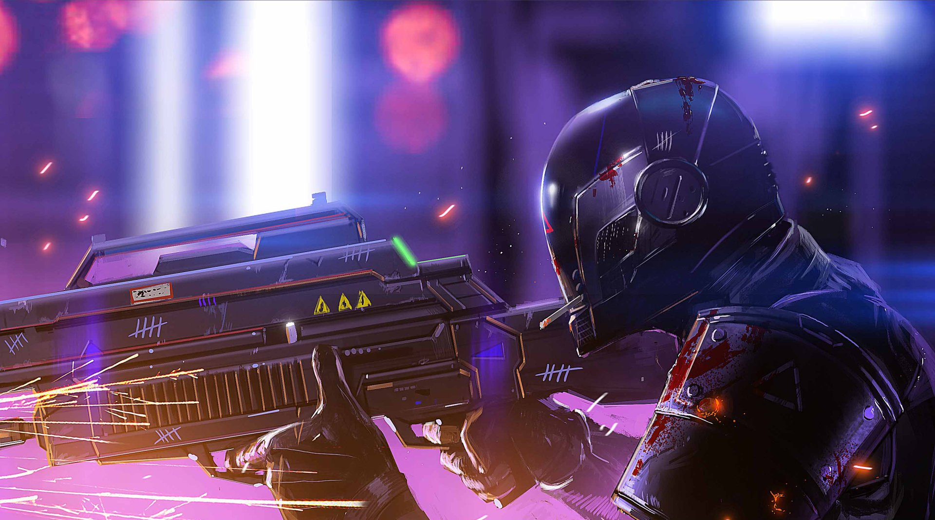 Sci Fi - Warrior  Weapon Wallpaper