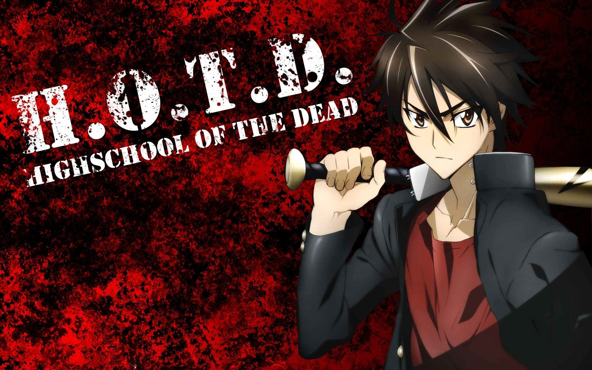 90 Highschool Of The Dead Hd Wallpapers Background Images