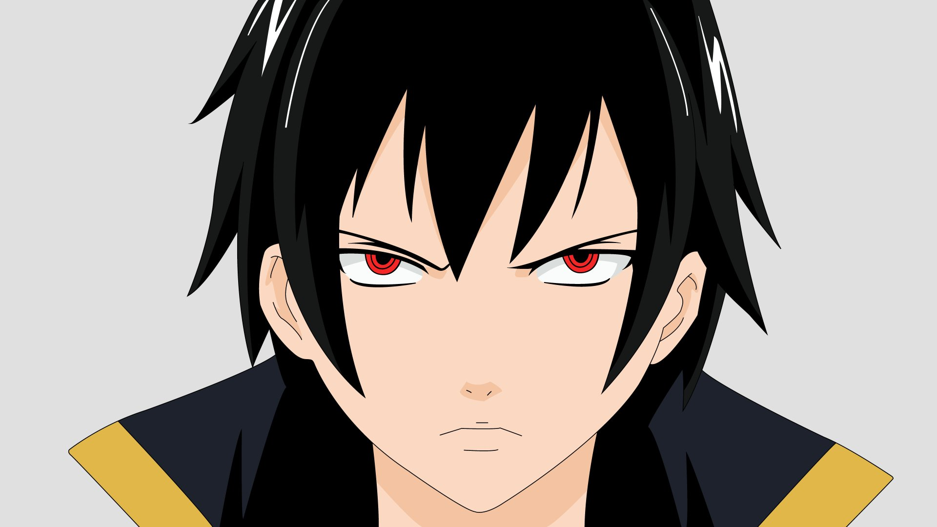 Anime - Fairy Tail  Zeref Dragneel Emperor Spriggan Black Wizard Wallpaper