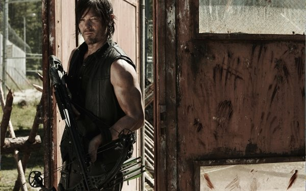 TV Show The Walking Dead Norman Reedus Daryl Dixon Crossbow HD Wallpaper | Background Image