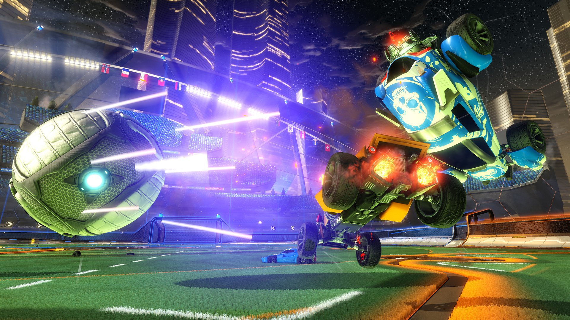 Rocket League Fondo De Pantalla Hd Fondo De Escritorio