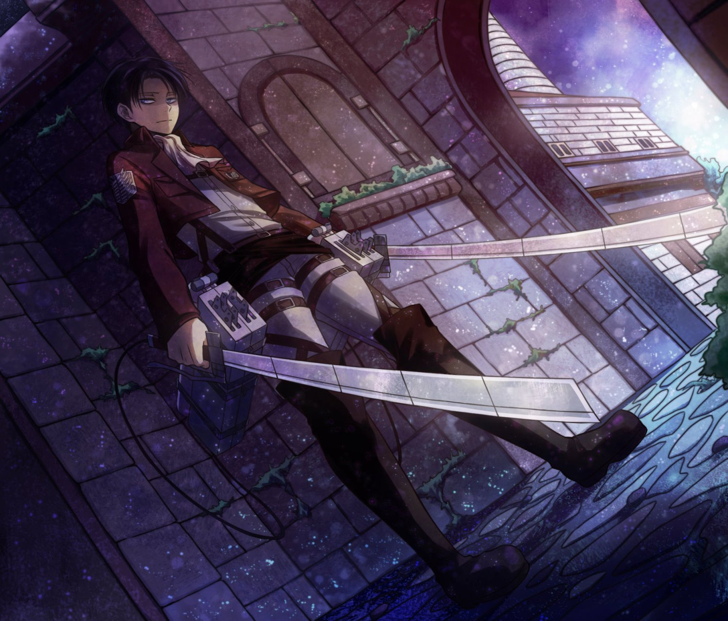 Levi Ackerman Wallpaper and Background Image | 1500x1280 ...