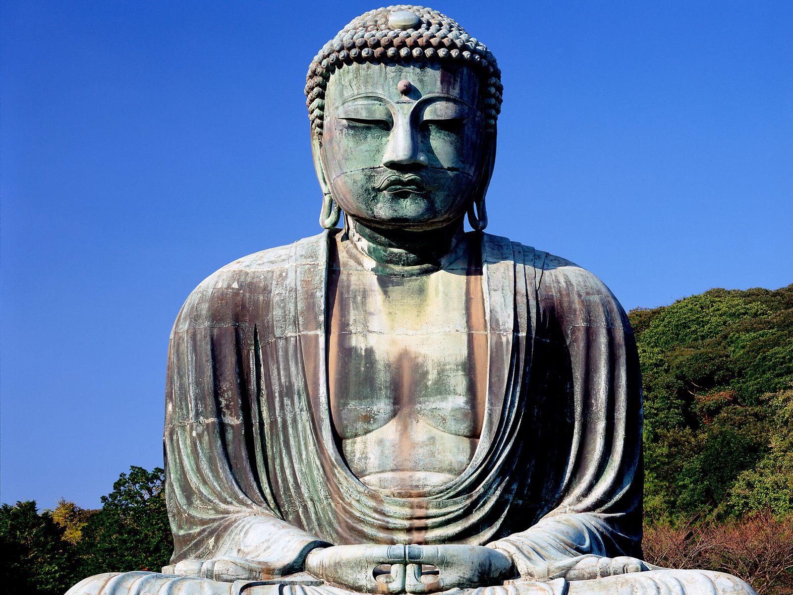 Religioso - Budismo  Evil False God Fondo de Pantalla