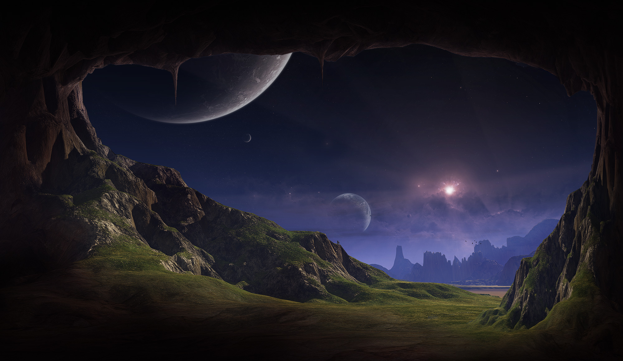 sci fi landscape alien planets - photo #1