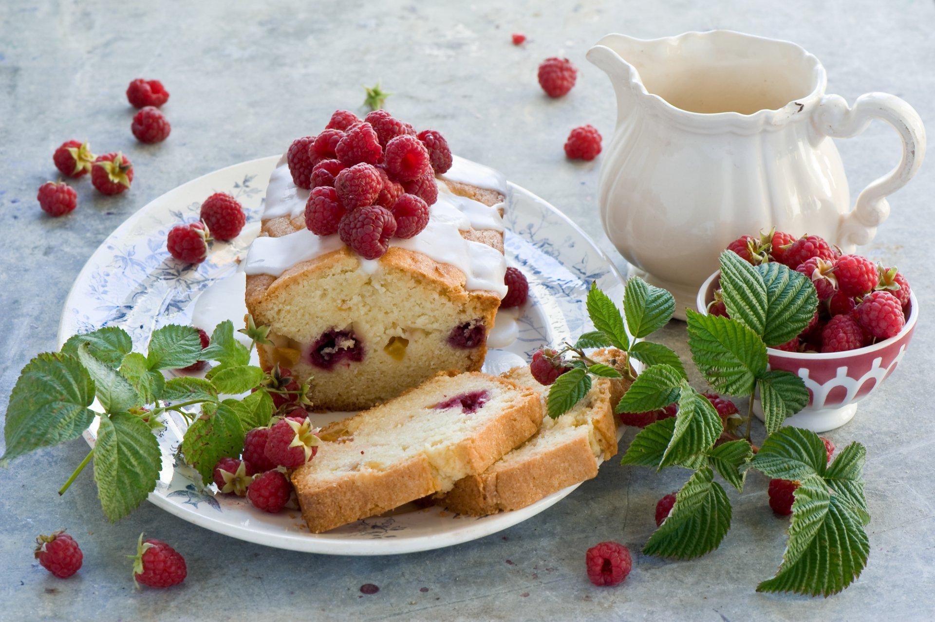 Food - Cake  Berry Pastry Raspberry Wallpaper