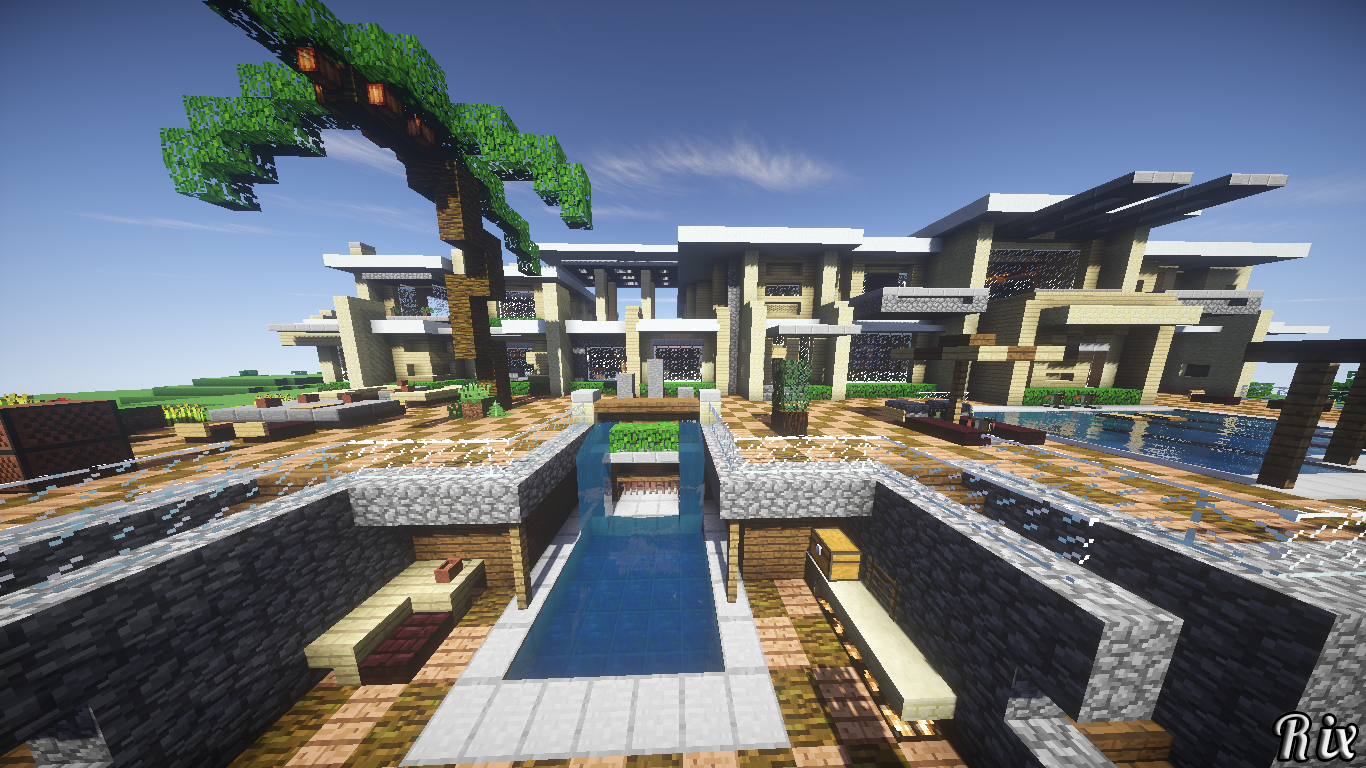 Video Game - Minecraft  House Game Wallpaper