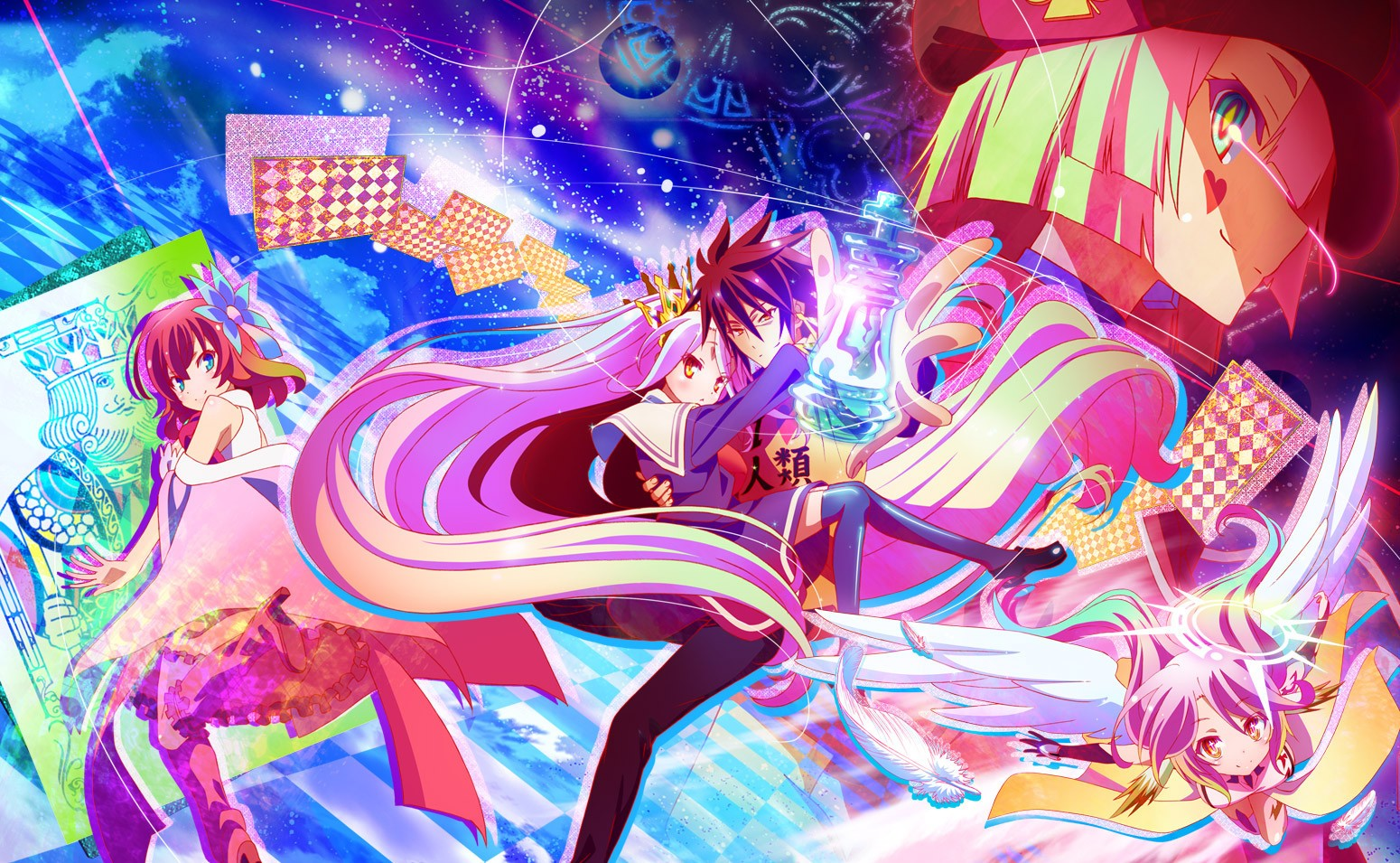 No Game No Life Wallpaper And Background Image 1550x955 Id Wallpaper Abyss