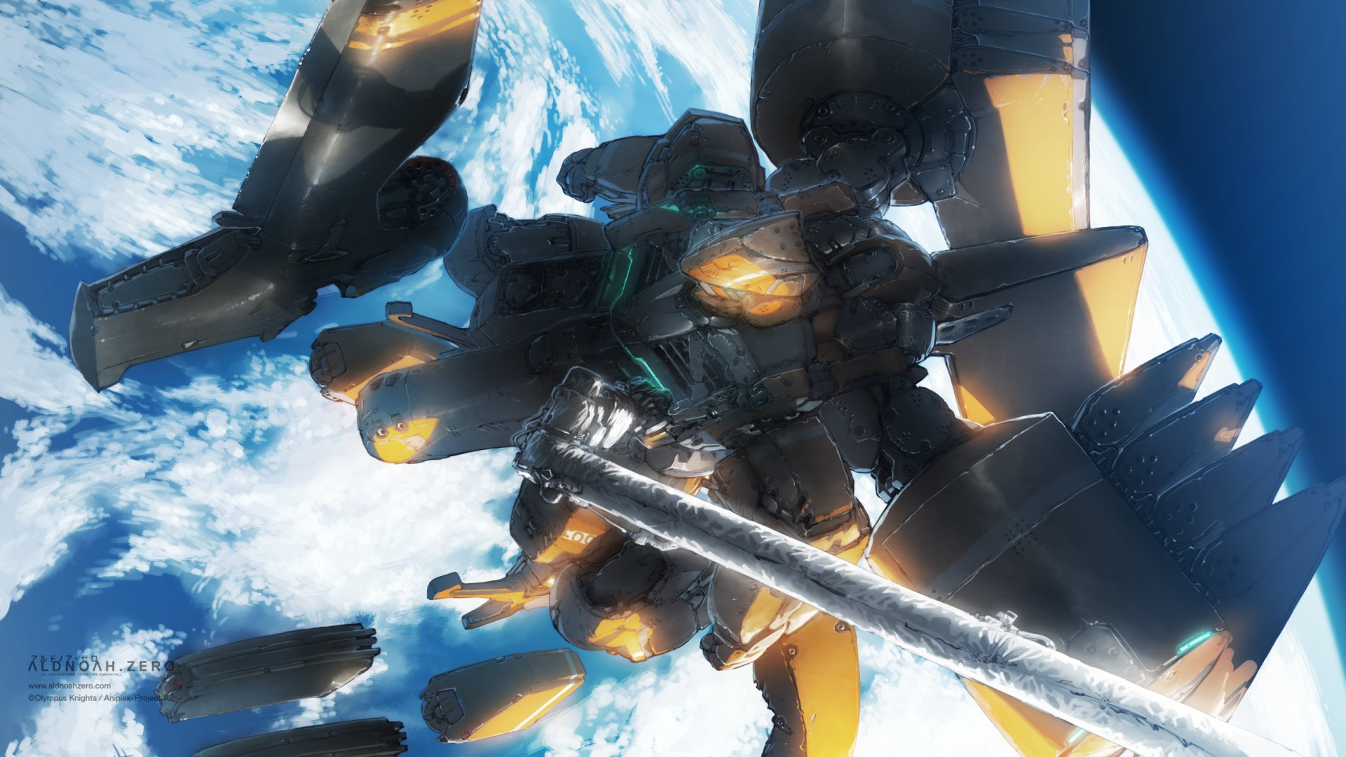 Anime - Aldnoah.Zero  Mecha Wallpaper