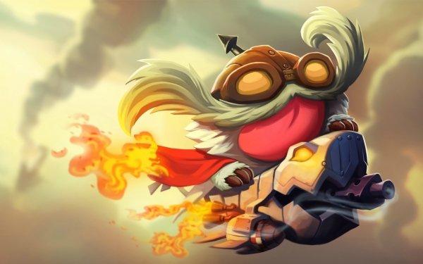 Video Game League Of Legends Corki Poro HD Wallpaper | Background Image