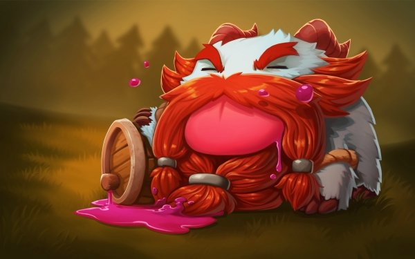 Video Game League Of Legends Gragas Poro HD Wallpaper | Background Image