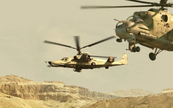 Military Kamov Ka-50 Military Helicopters Helicopter HD Wallpaper | Background Image