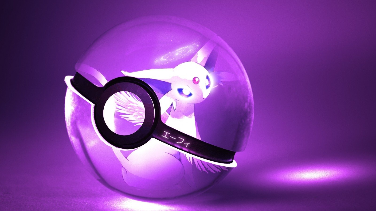 Anime - Pokémon  Espeon (Pokémon) Eeveelutions Pokeball Wallpaper