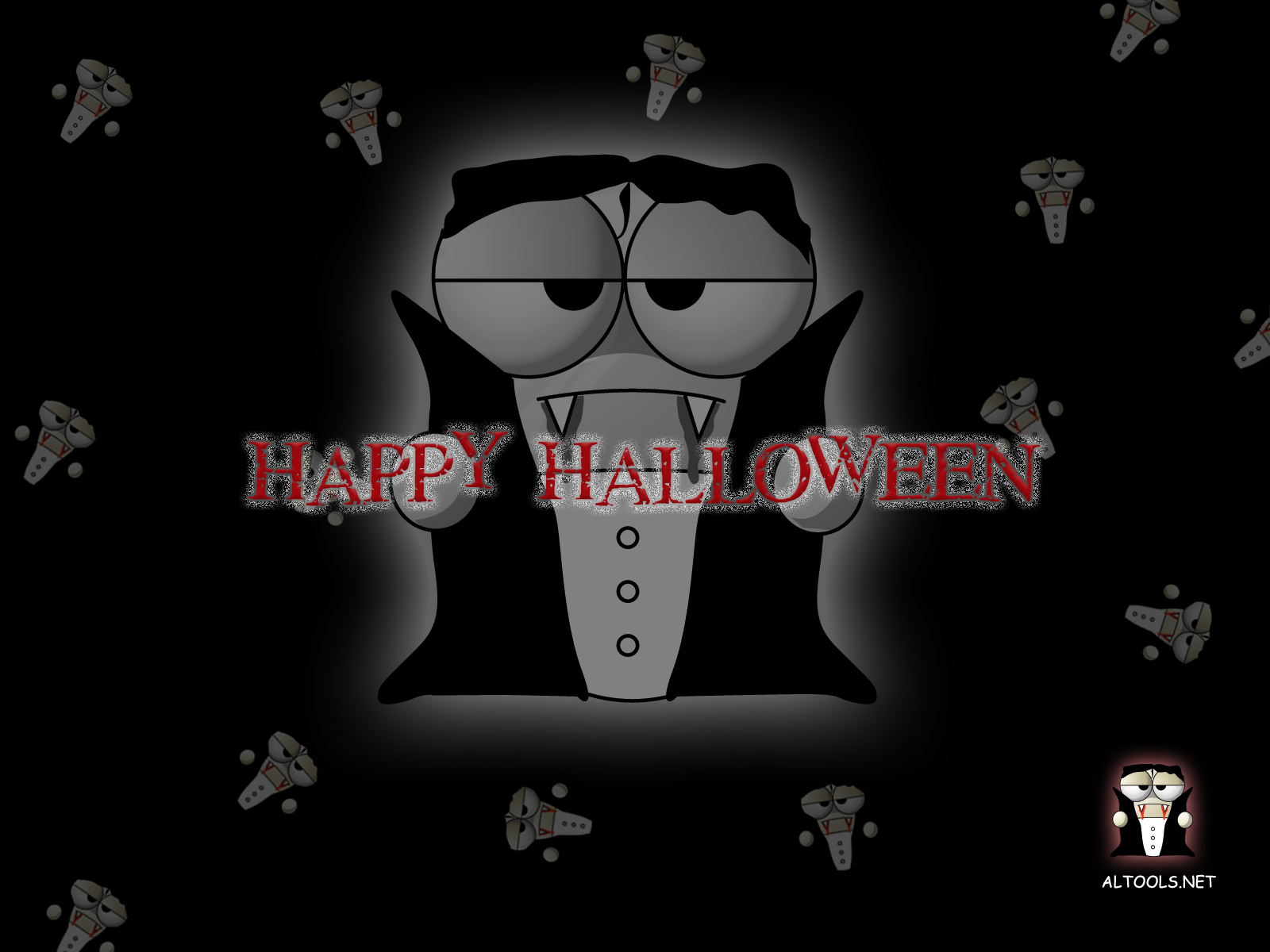 Holiday - Halloween  - Vampire Wallpaper