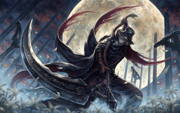 Videojuego Bloodborne Fantasía Luna Fondo de pantalla HD | Fondo de Escritorio