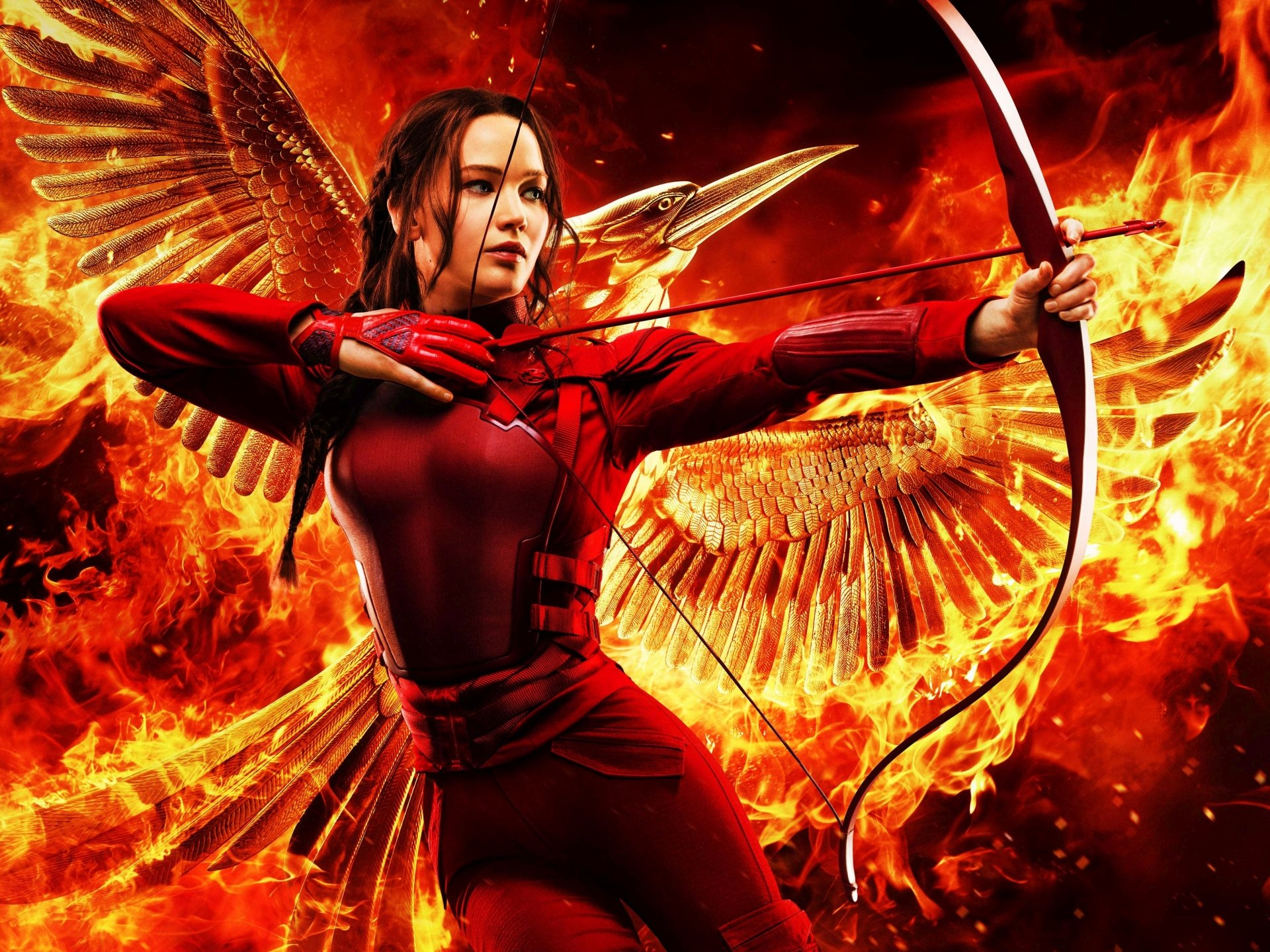 Movie - The Hunger Games: Mockingjay - Part 2  Jennifer Lawrence Wallpaper
