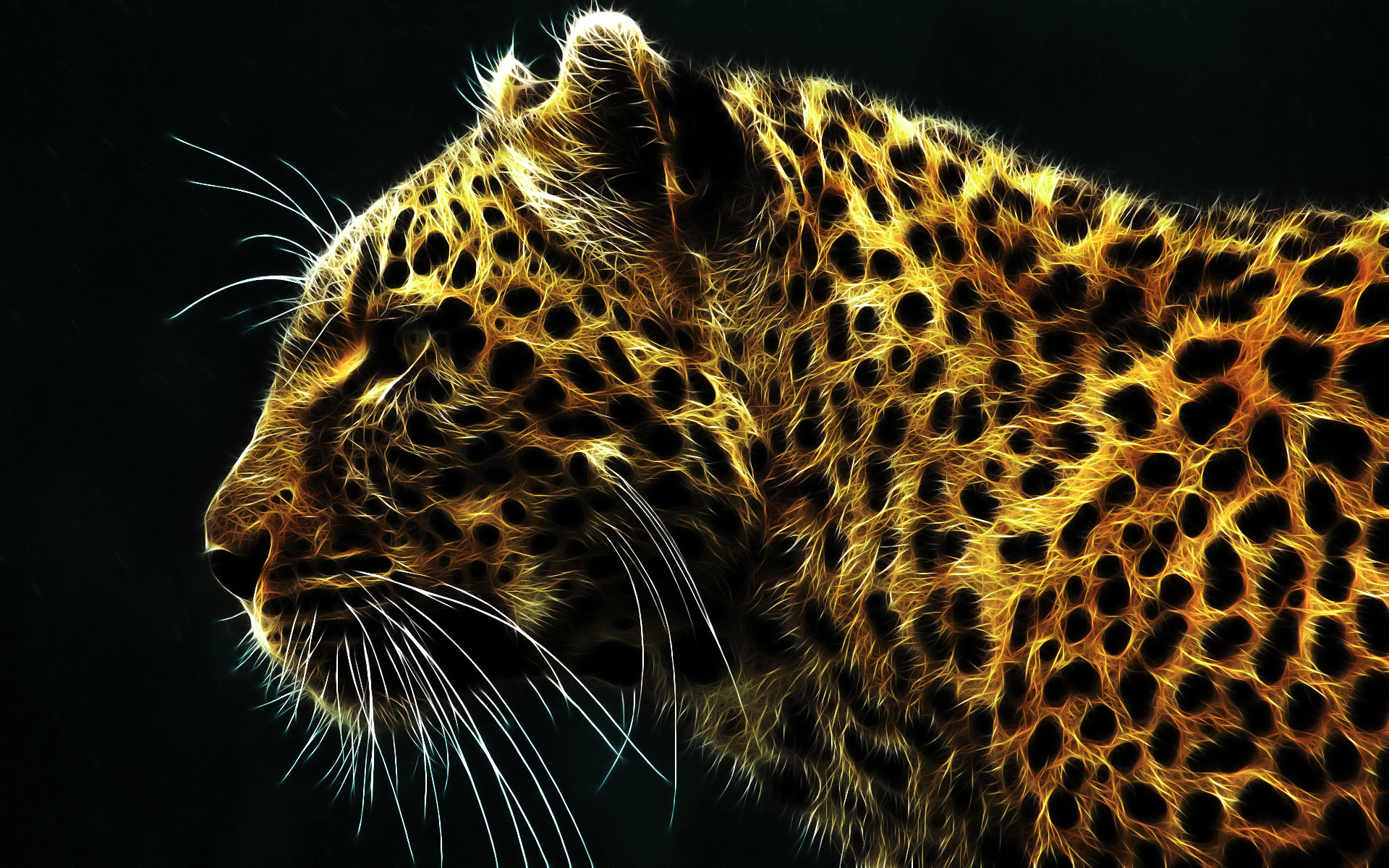 Djur - Cheetah  - Animal Tiger - Cgi - Hunter - Predator - Katt - Animals - Lejon -  äpple  - Tiger - Draak - Djur Bakgrund