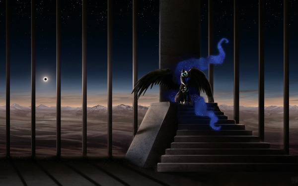 TV Show My Little Pony: Friendship is Magic My Little Pony Nightmare Moon HD Wallpaper | Background Image