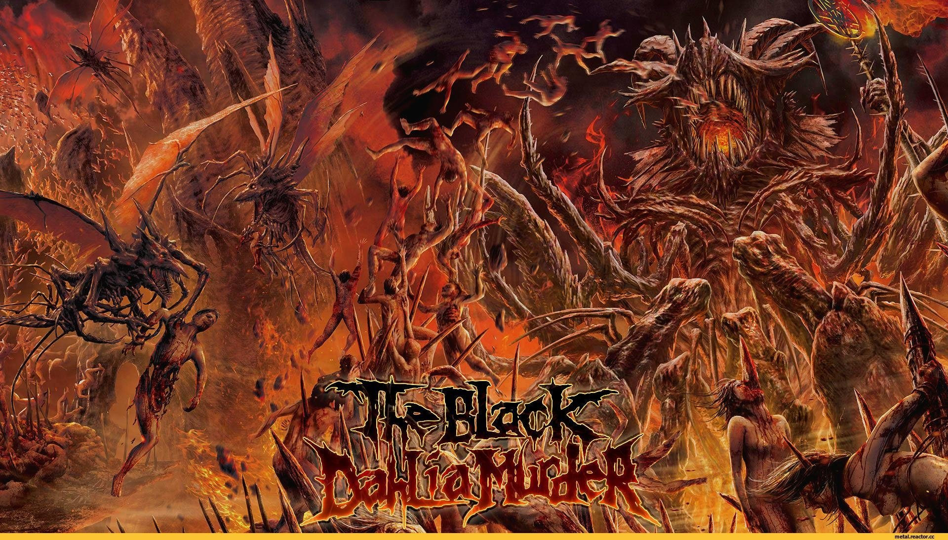The Black Dahlia Murder Hd Wallpaper Background Image 1920x1094