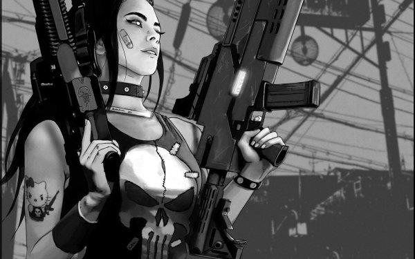 Comics Punisher HD Wallpaper | Background Image
