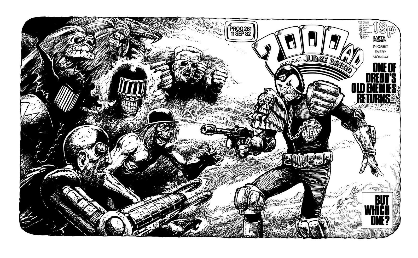 Comics - Judge Dredd  Wallpaper