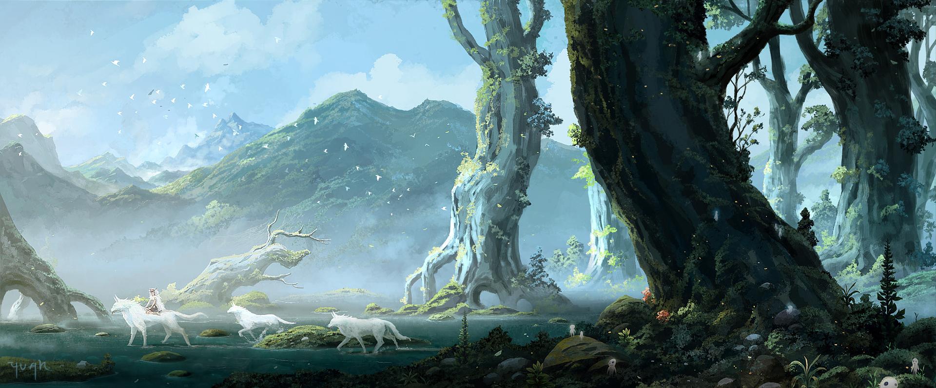 Princess Mononoke Wallpaper and Background Image ...