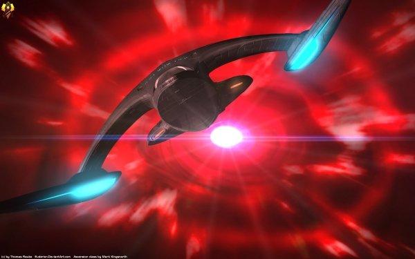 TV Show Star Trek: The Next Generation Star Trek Ascension class Sci Fi Starship HD Wallpaper   Background Image