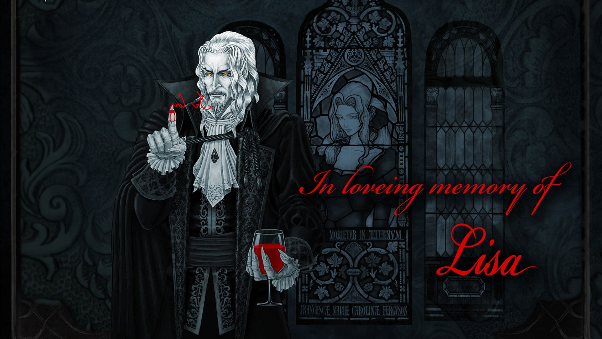 Castlevania Symphony Of The Night Full HD Wallpaper And Background